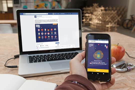 Facebook SmartApp - Run a game or contest, directly through the Newsfeed